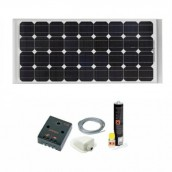 Kit Panneau Solaire 75W Camping-Cars