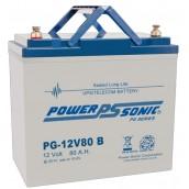 Batterie AGM 12V 80Ah Power Sonic