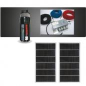 Kit complet pour pompage solaire SHURflo au fil du soleil