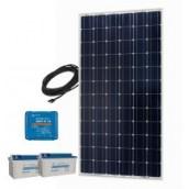 Kit solaire avec Batterie 180W 24V