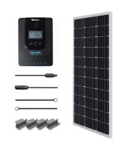 Fiche produit du kit solaire Renogy de 100W et avis Watteo