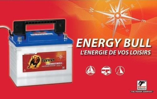 Batterie pour loisir BANNER Energy Bull