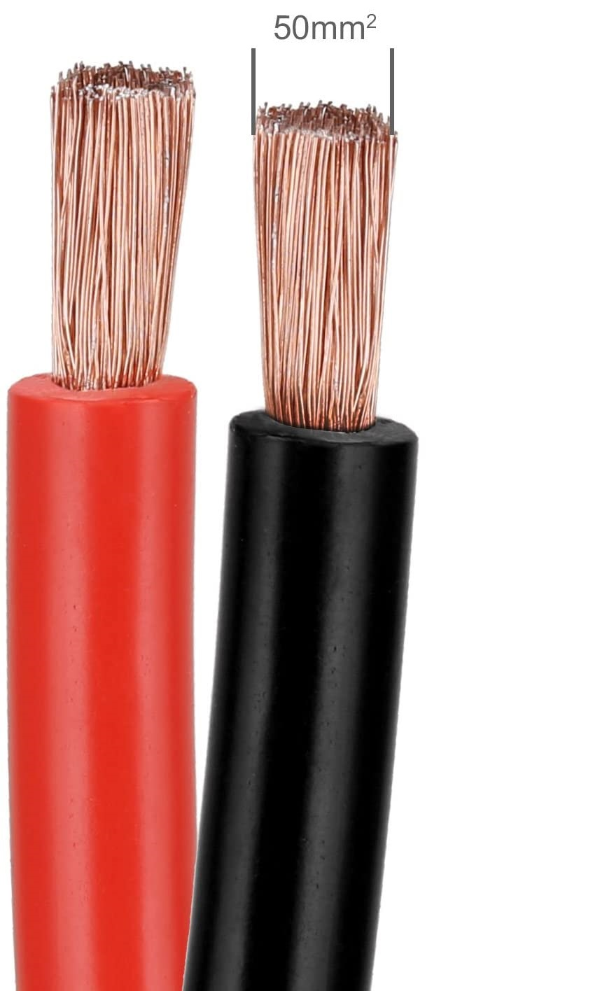Câbles de démarrage Voilamart 6m 3000A avec grande section de 50mm²