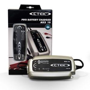 Emballage du chargeur de batterie voiture CTEK MXS 10