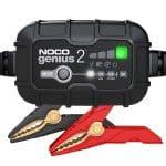 Chargeur et désulfateur Noco Genius 2 compatible batterie 6 et 12V