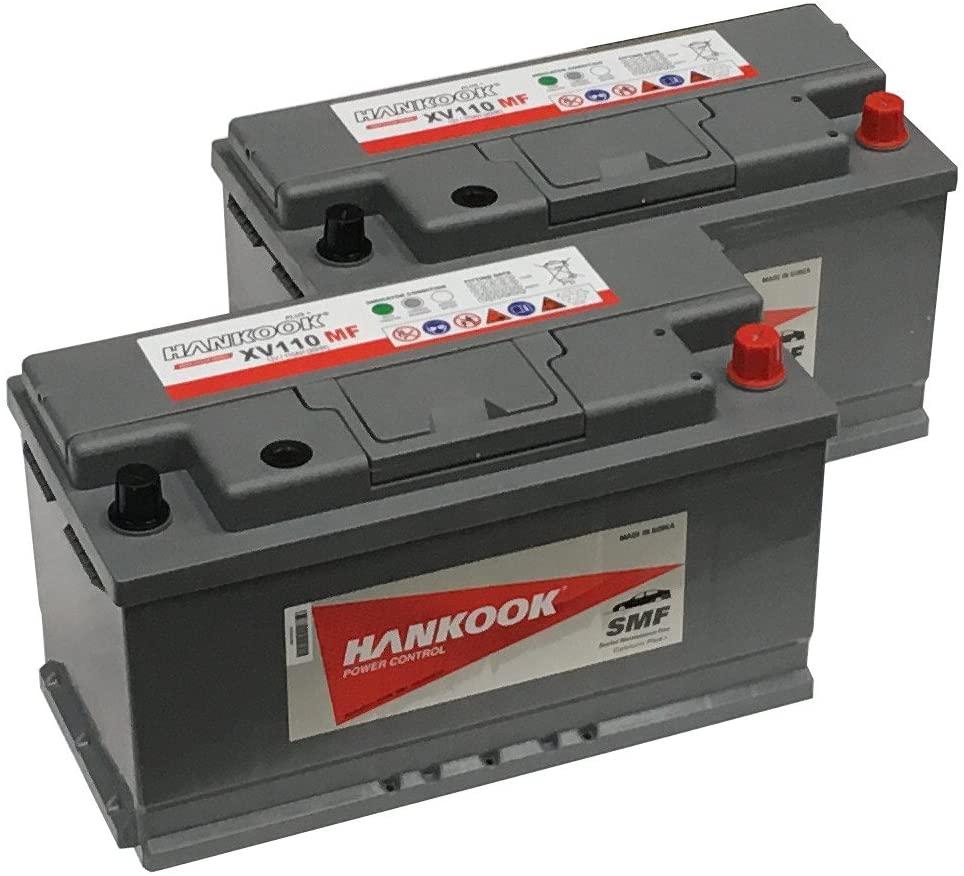 Lot de 2 batteries Hankook XV110