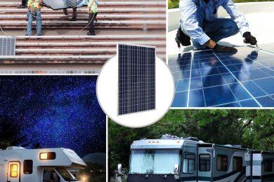 Tous les kits et panneaux solaire de la marque Eco-Worthy