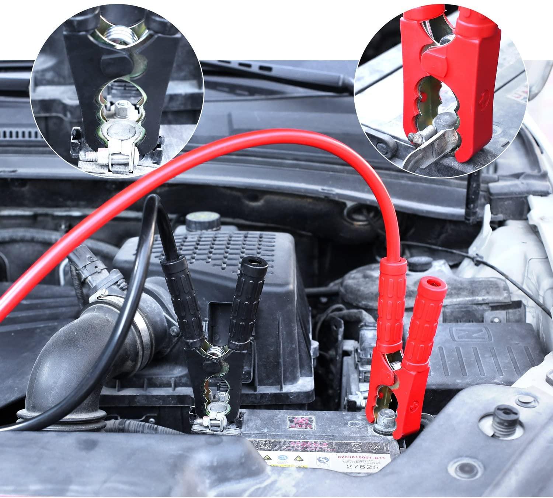 MVPower câbles de démarrage pour voiture, camping-car, camion et poids lourd