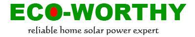 Les kits et panneaux solaires de la marque Eco-Worthy