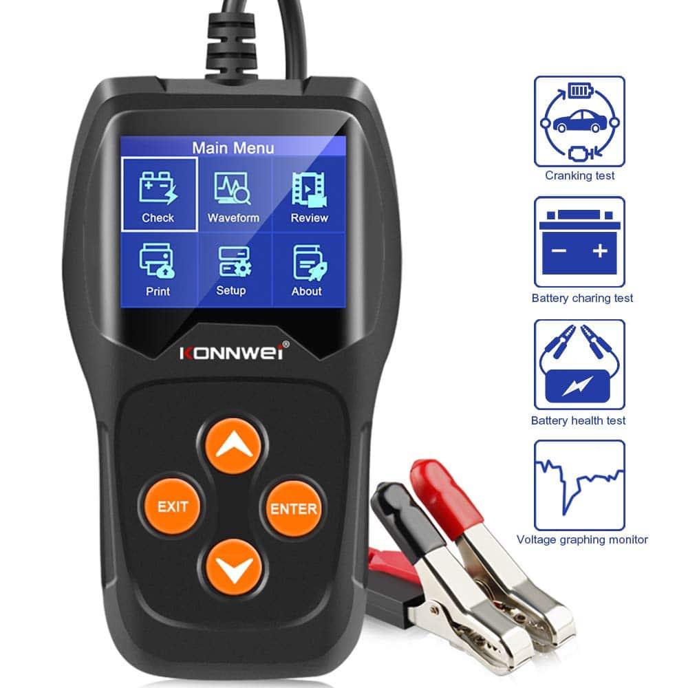 Fiche produit du testeur Konnwei KW600