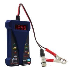 Le testeur de batterie le plus vendu en 2020 : MotoPower 12V