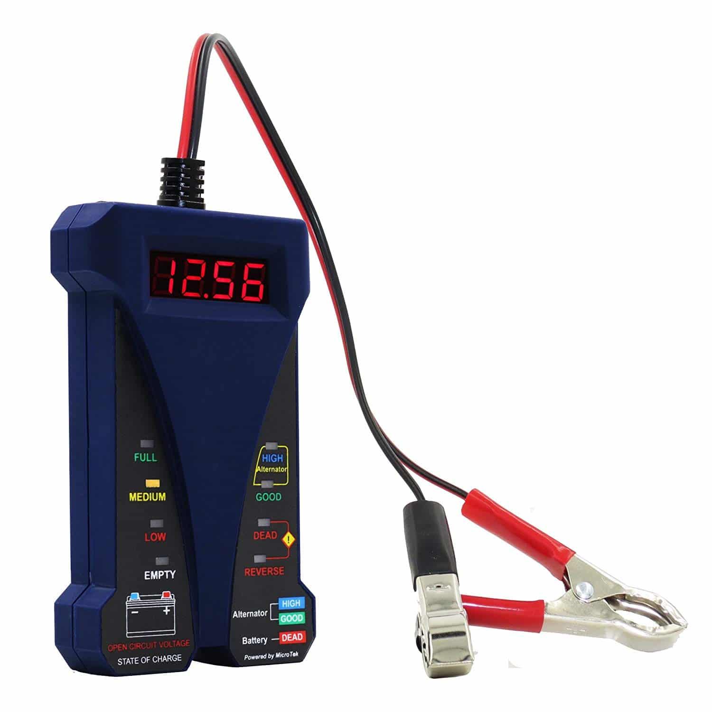 Fiche produit du testeur MotoPower 12V MP0514D