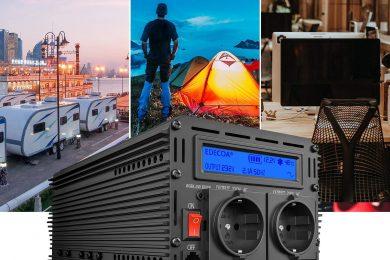 Le puissant convertisseur pur sinus Edecoa de 1000 watts