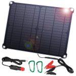 Panneau solaire chargeur pour batterie 12V Suaoki