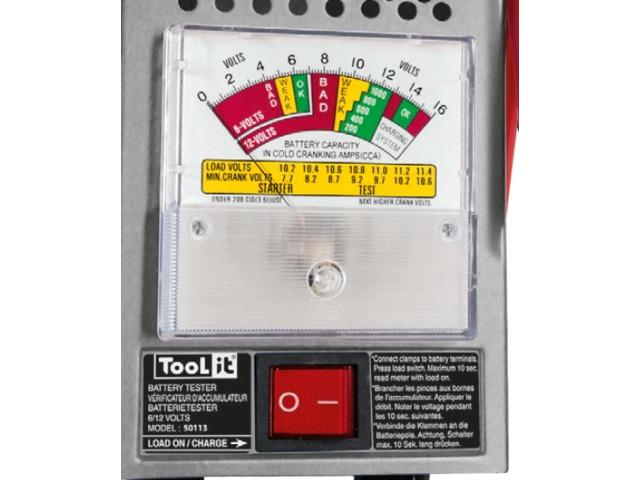 3 modes de test différents pour le testeur de batterie Gys Tool it 100 Traditionnel