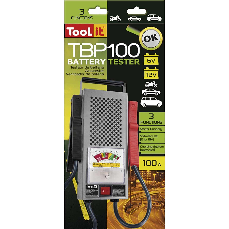 Testeur de batterie traditionnel Gys TooL it 6V et 12V de 100Ah