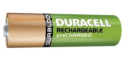 La nouvelle pile Duracell préchargée
