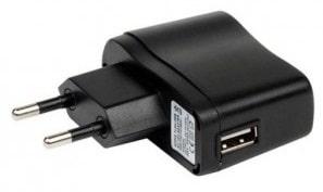 Adaptateur secteur avec prise USB