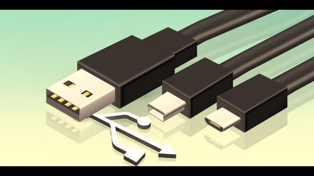 Les différentes connectiques USB