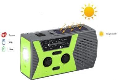 Guide d'achat des meilleures radios d'urgence solaires portables