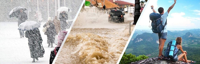 Radio d'urgence en utile cas de catastrophe naturelle