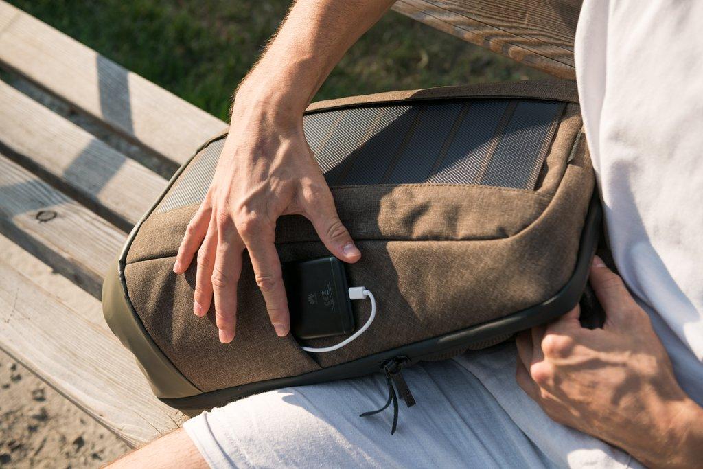 Sac à dos solaire Sunnybag Iconic de qualité à petit prix