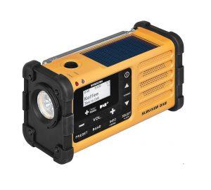 Puissante radio d'urgence Sangean SURVIVANT DAB de haute qualité