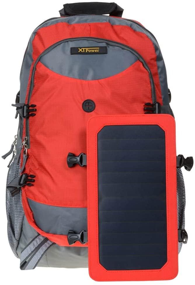 Sac à dos solaire XTPower avec panneau amovible