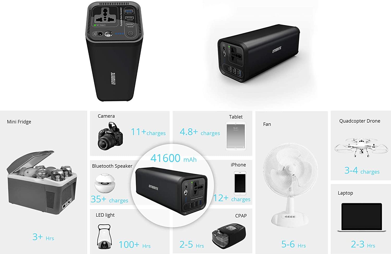Station de charge Hurakan pour recharger tous vos appareils du quotidien