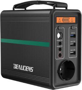 Le petit générateur d'énergie solaire Beaudens 166Wh