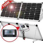 DOKIO 100W : Kit panneau solaire pliable et transportable
