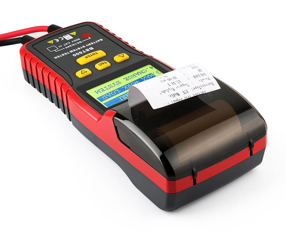 Testeur de batterie Ancel BST 500 avec imprimante thermique intégrée