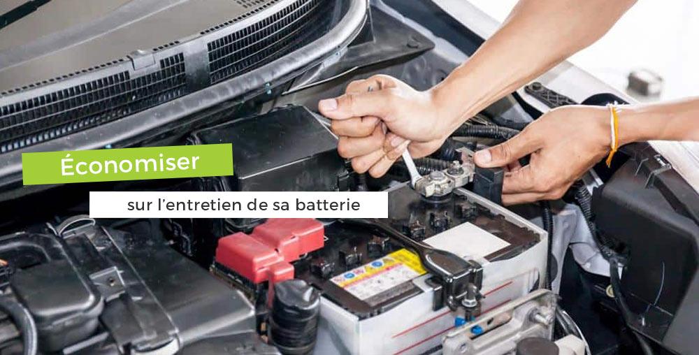 Économiser entretien batterie