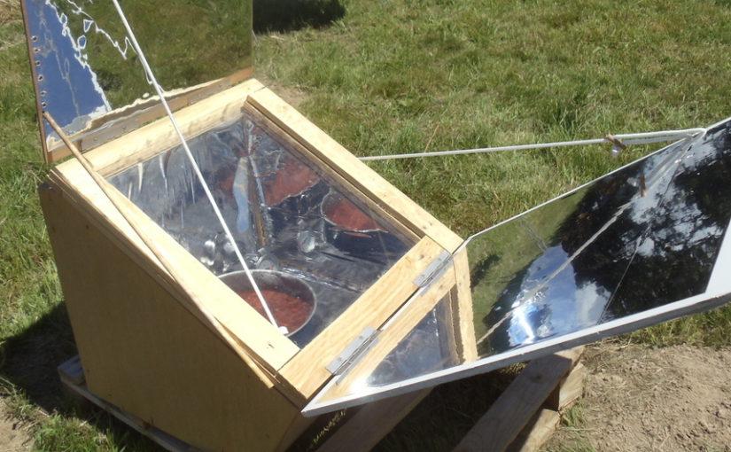 Fabriquer soi-même un four solaire caisson