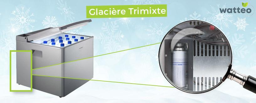 Alimentation Trimixte glacière à absorption