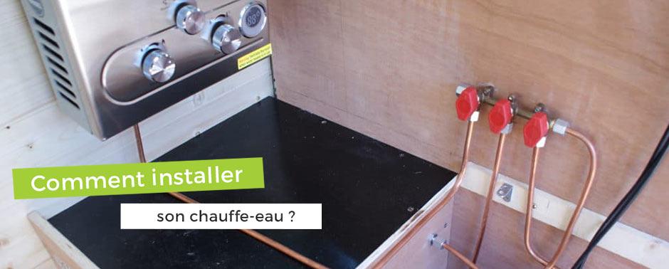 Comment installer un chauffe-eau de camping-car ?
