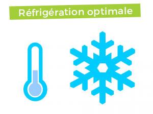 Réfrigération optimale glacière à absorption