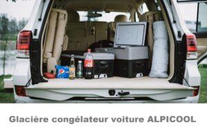 Les frigos congélateurs pour voiture du fabricant Alpicool