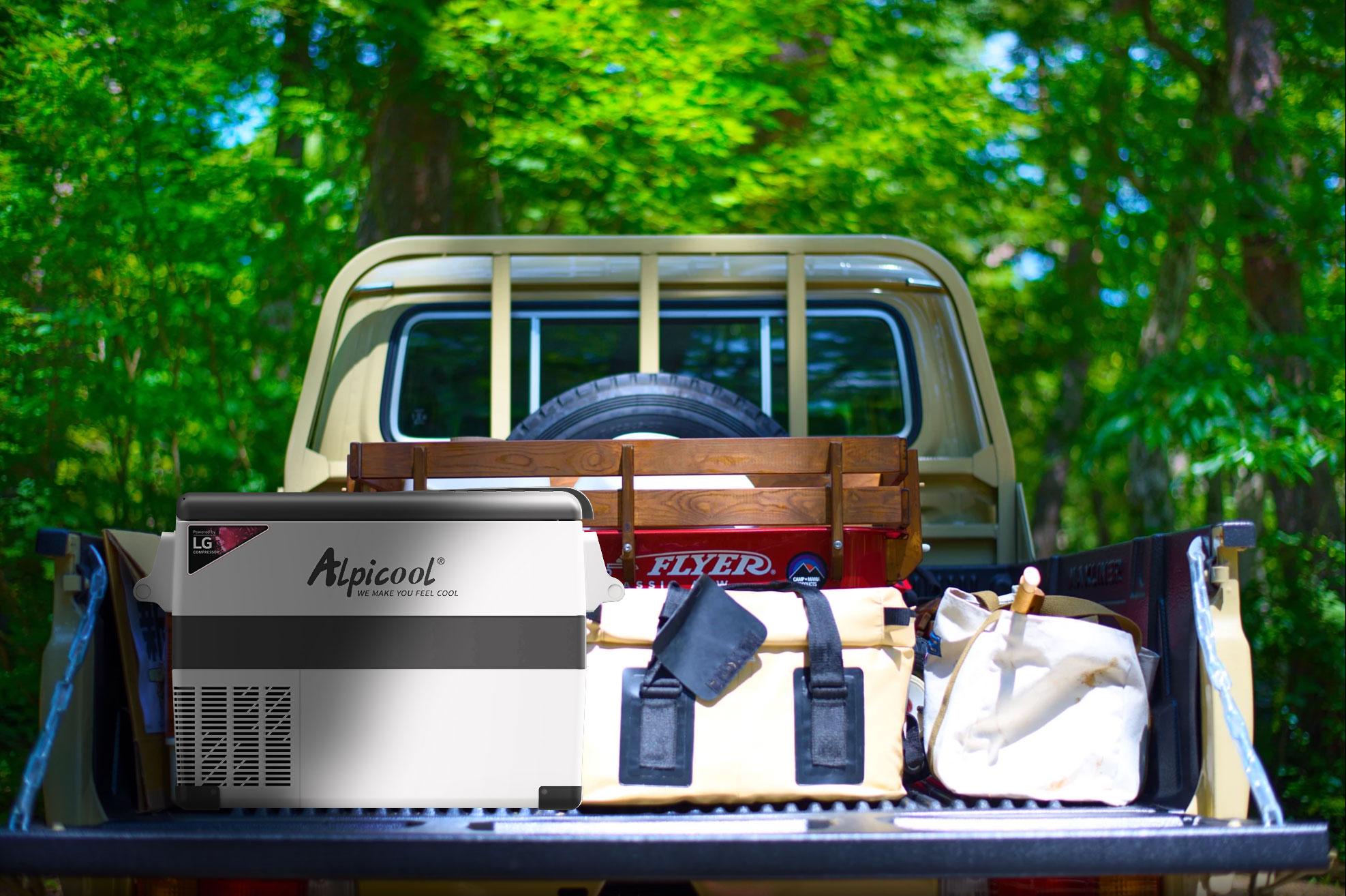 Les réfrigérateurs à compression portable à brancher dans votre véhicule