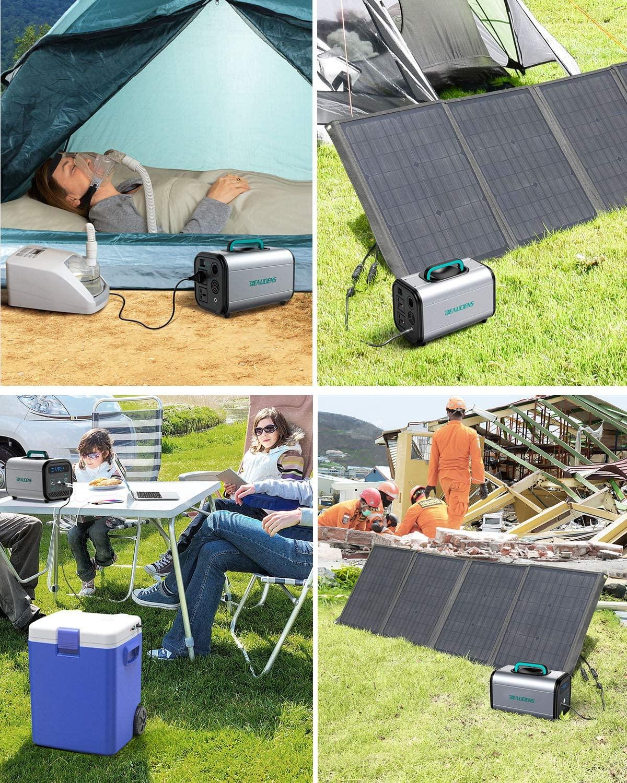 Générateur solaire Beaudens 384Wh idéal pour le camping