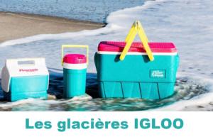 IGLOO : spécialiste des glacières rigides, souples ou les bouteilles isothermes et distributeurs de boisson