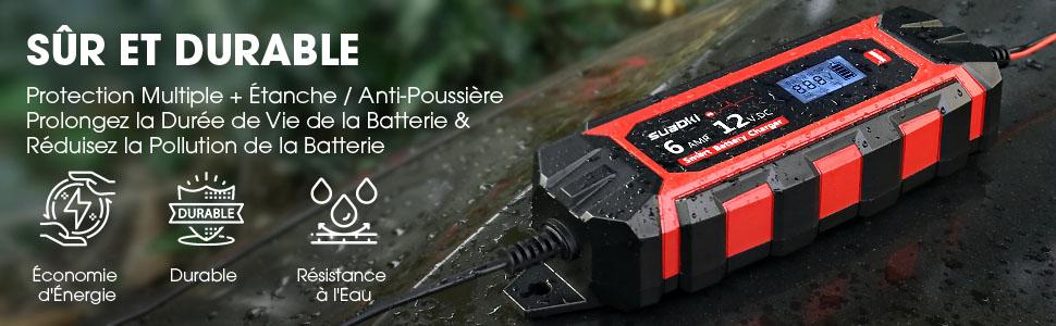 Suaoki 4A : le chargeur de batterie sécurisé