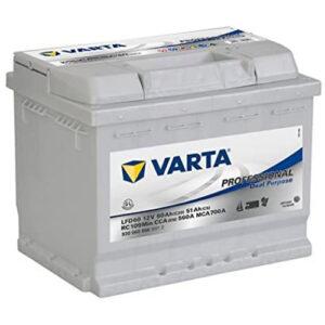 Petite batterie à décharge lente Varta 60Ah