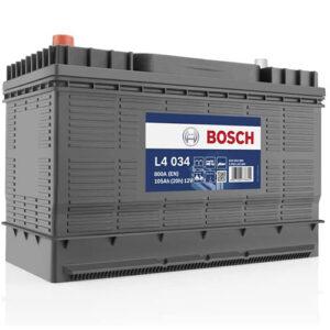 Batterie à décharge lente Bosch 105 Ah L4034 : voir la fiche produit