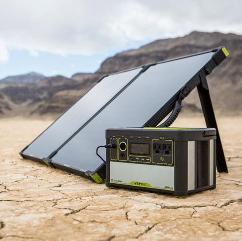 Panneau solaire adapté au générateur d'énergie