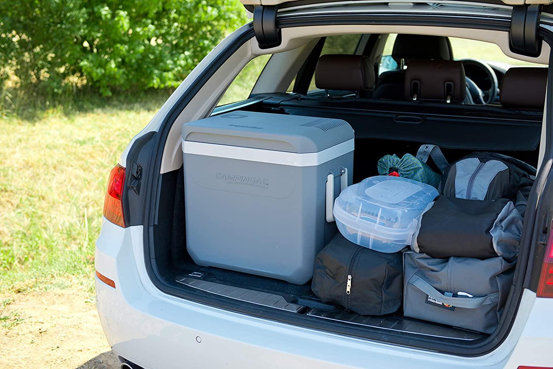 Pour les longs trajet en voiture : Glacière électrique Campingaz PowerBox Plus 36L