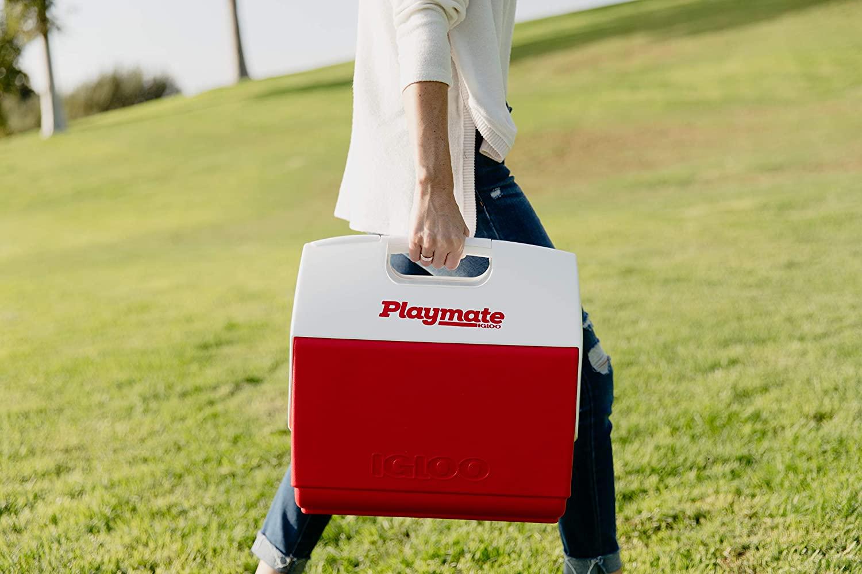 Glacière rigide Playmate Elite rouge : pratique à transporter