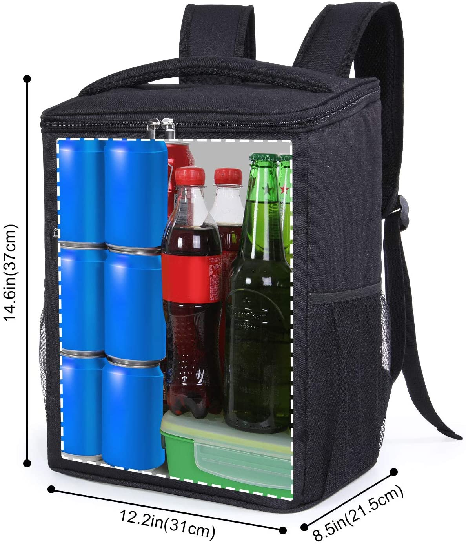 Grand volume de stockage du sac à dos isotherme Lifewite