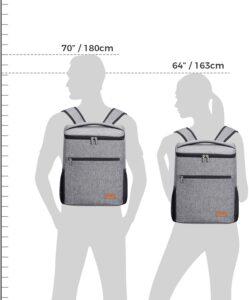 Grand sac à dos isotherme Lifewite mais compact