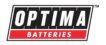 Logo du fabricant Optima, spécialiste des batteries à décharge lente performantes